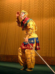 Sun Wukong at Beijing opera - Journey to the West