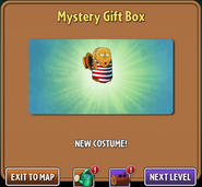 Tall Nut New Costume Mystery Gift Box