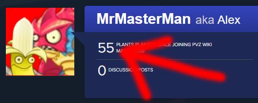 Mrmasterman edits