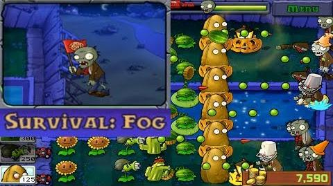 Plants vs. Zombies - Survival - Fog (Android Gameplay HD) Ep