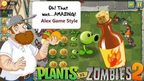 Plants vs. Zombies 2 - We begin the Legendary series of the Legendary game. Full HD 60 FPS (Ep