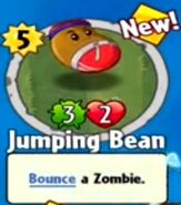 Recieving Jumping Bean