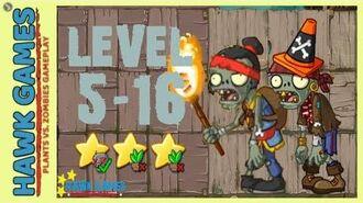 V1.0.81 Plants vs. Zombies All Stars - Pirate Seas Level 5-16 4K 60FPS