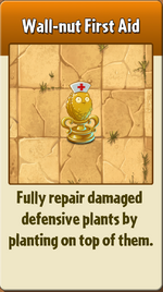 Wall-nut First Aid PvZ2