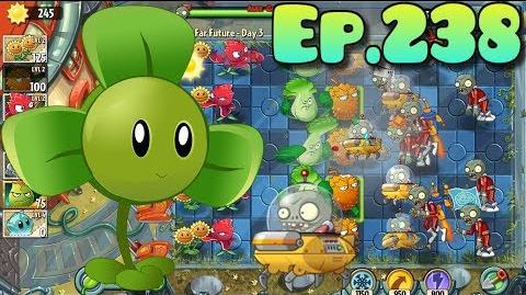 Plants vs. Zombies 2 Got a new Plant Blover, New Bug Bot Imp - Far Future Day 3 (Ep