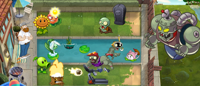 Plants vs. Zombies Artwork 2