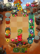 Plant Mission 20 Midboss Battle 2