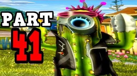 Video - Plants vs Zombies Garden Warfare - Future Cactus Gameplay ...