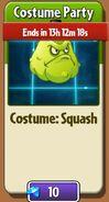 Squash Costume Party