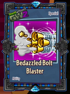 Bedazzled bolt blaster sticker