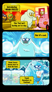 Brain Freeze Unlock Comic