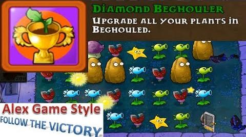 Plants vs. Zombies - Mini Games Beghouled Achievement Diamond Beghouler (Android HD) Ep