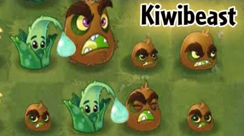 Plants vs Zombies 2 - Kiwibeast team up with Aloe Pinata Party 7 14 2016