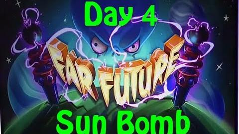 Far Future Day 4 - Sunflower Bomb - Plants vs Zombies 2