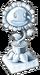 Silver Sunflower Trophy