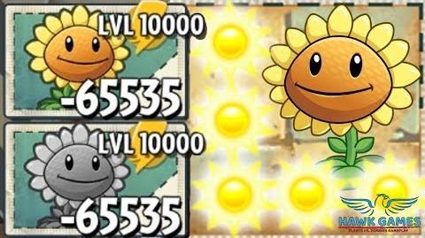 Sunflower Level 10000! 🌻 Plants vs Zombies 2