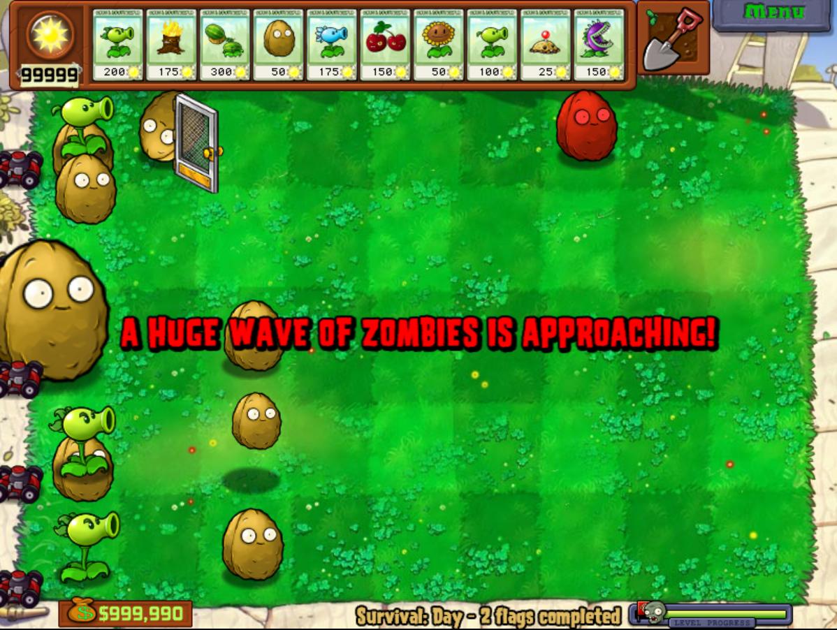 Plant Vs Zombies How To Cheats Plants VS Zombies Cheats