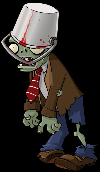 Buckethead Zombie