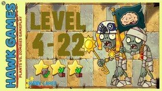V1.0.81 Plants vs. Zombies All Stars - Ancient Egypt Level 4-22 4K 60FPS