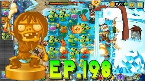 Plants vs. Zombies 2 Defeat ZomBoss Zombot Tuskmaster 10,000 BC - Frostbite Caves Day 30 (Ep