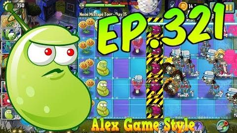 Plants vs. Zombies 2 Survive and protect plants - Neon Mixtape Tour Day 15 (Ep
