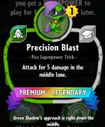 Precision Blast statistics