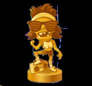 HD neon mixtape tour trophy