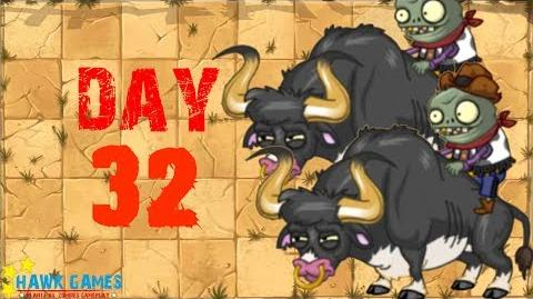 Plants vs Zombies 2 - Wild West - Day 32