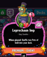 Beta Stats Leprechaun Imp