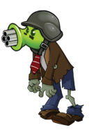 HD Gatling Pea Zombie