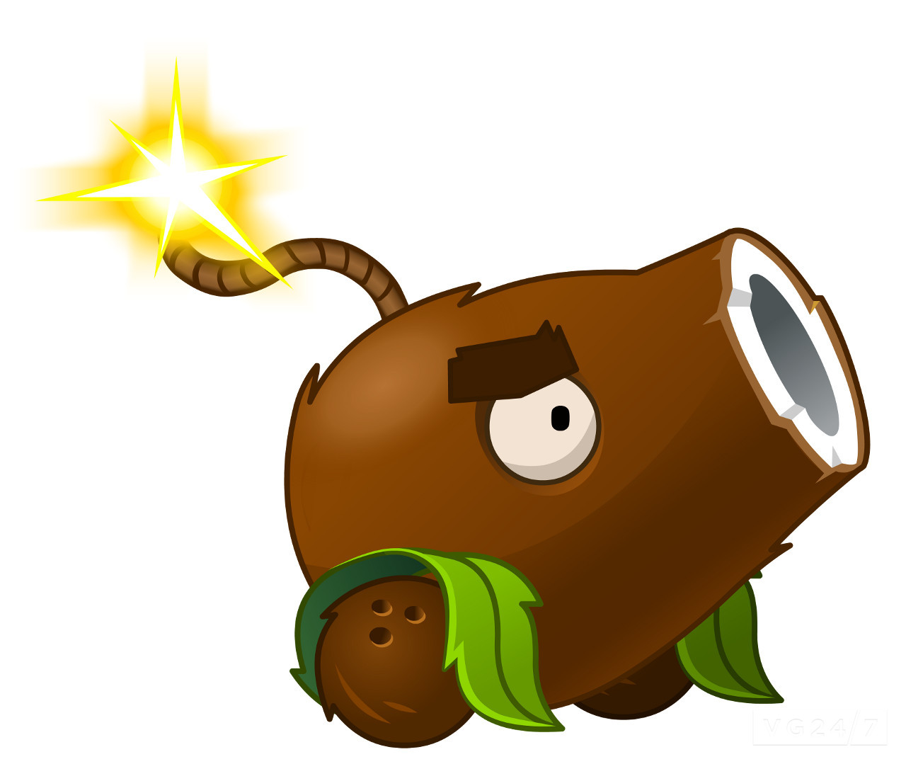 Image  PVZIAT Coconut Canonjpg  Plants vs Zombies Wiki