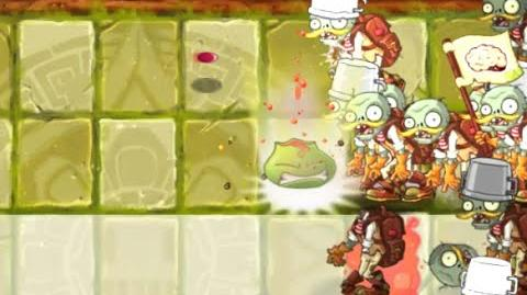 Plants vs Zombies 2 - Lost City Day 3 - Lava Guava