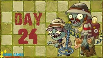 Pre-1.8 Plants vs. Zombies 2 China - Lost City - Day 24