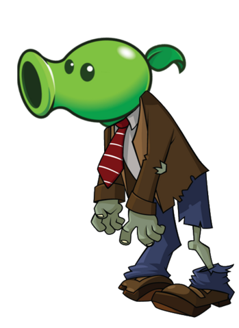 File:HD Peashooter Zombie.png
