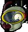 Zombie snorkle head