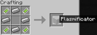 Crafting plasmificator