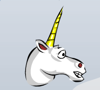 Head unicorn