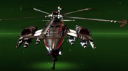 Helicopter Drone Transformed