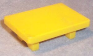 Yellow Small Coffee Table
