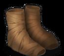 Burlap Shoes