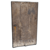Значок старой тяжелой деревянной двери