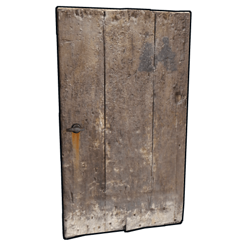 Old Heavy Wooden Door Rust Wiki Fandom Powered By Wikia