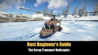 Rust Beginner's Guide - The Scrap Transport Helicopter-0