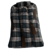 Blue Plaid Sleeping Bag icon