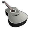 Black Acoustic Guitar icon