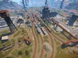Industrial Train Yard