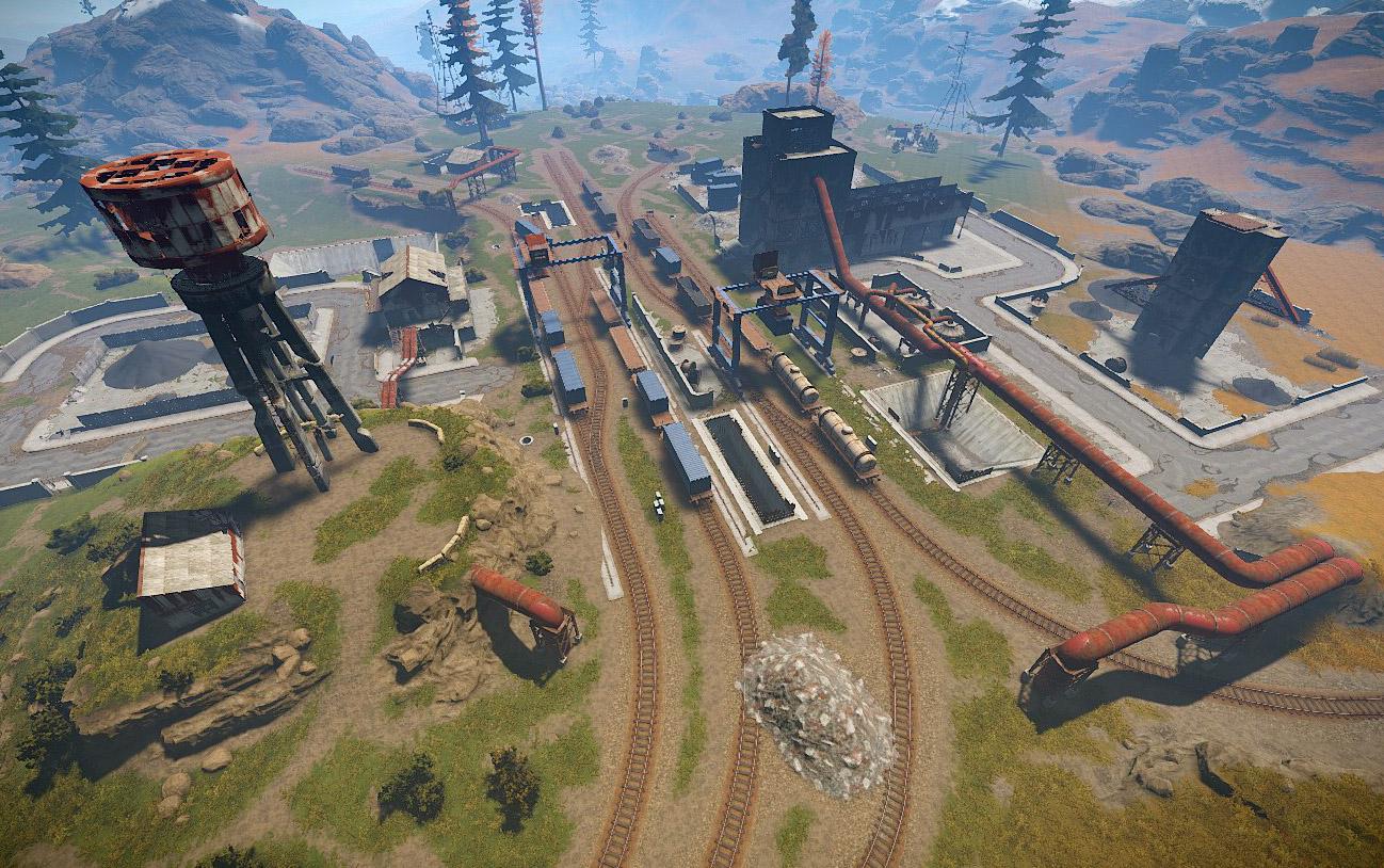 Industrial Train Yard | Rust Wiki | FANDOM powered by Wikia