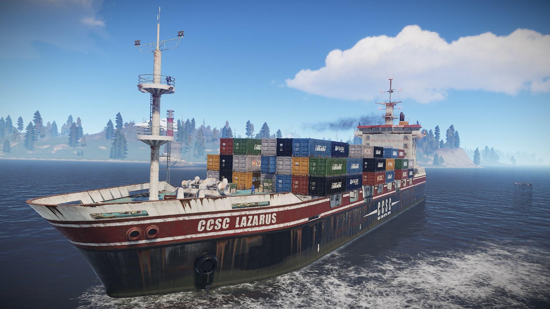 Cargo Ship   Rust Wiki   FANDOM powered by Wikia