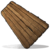 Огромный значок деревянного знака