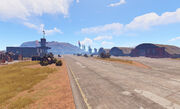 Airfield main view